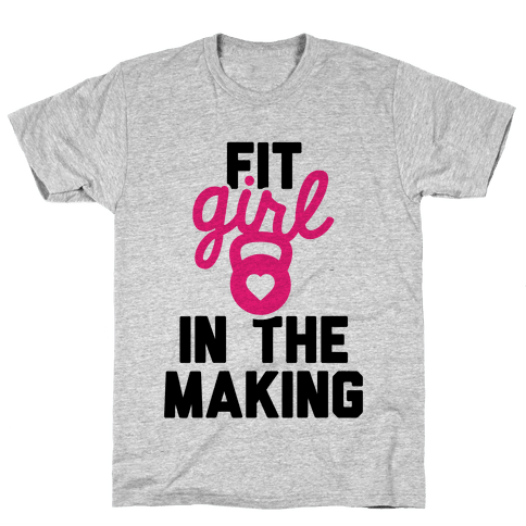 Fit Girl In The Making Mens T-Shirt