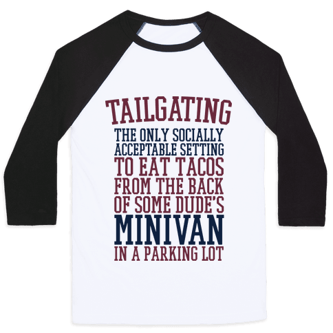 Tailgating Baseball Tee