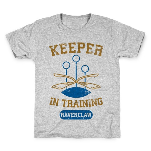 Keeper In Training (Ravenclaw) Kids T-Shirt