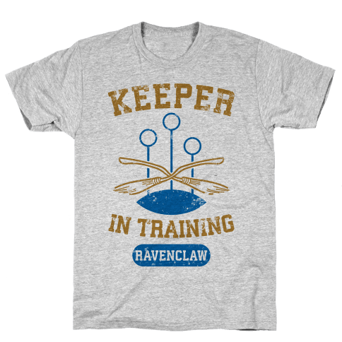 Keeper In Training (Ravenclaw) Mens T-Shirt