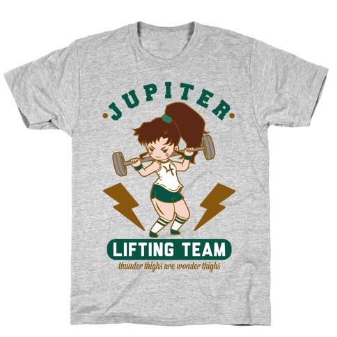 Jupiter Lifting Team Thunder Thighs are Wonder Thighs T-Shirt