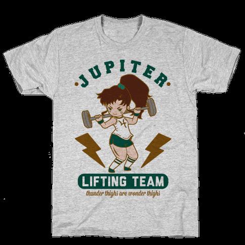 Jupiter Lifting Team Thunder Thighs are Wonder Thighs Mens T-Shirt