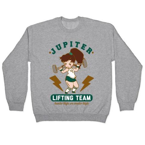 Jupiter Lifting Team Thunder Thighs are Wonder Thighs Pullover