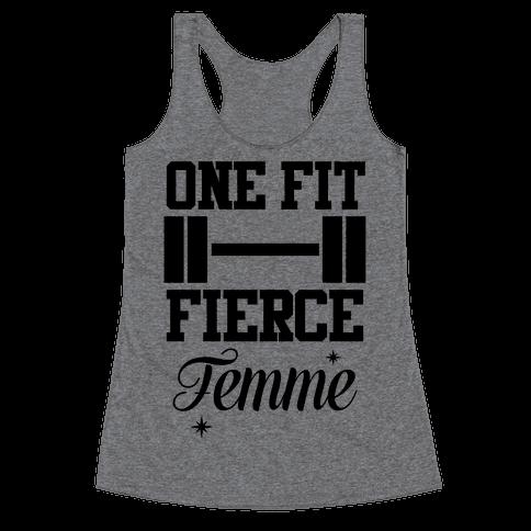 One Fit Fierce Femme Racerback Tank Top