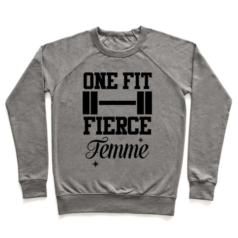 One Fit Fierce Femme Pullover