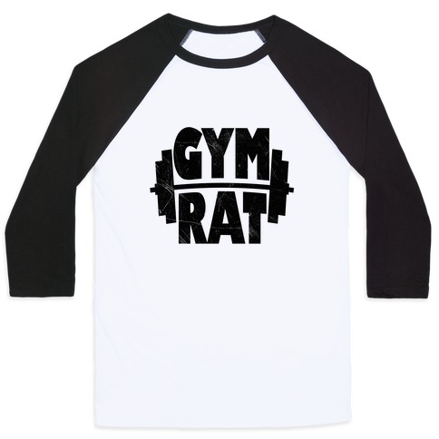 Gym Rat Crop Top Baseball Tee