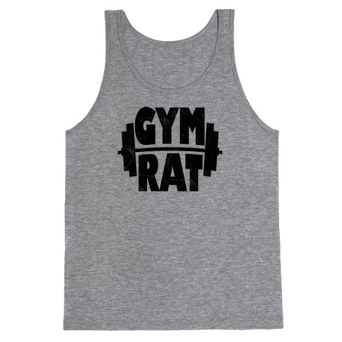 Gym Rat Crop Top Tank Top