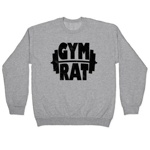 Gym Rat Crop Top Pullover