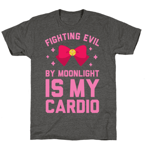 Fighting Evil by Moonlight is My Cardio
