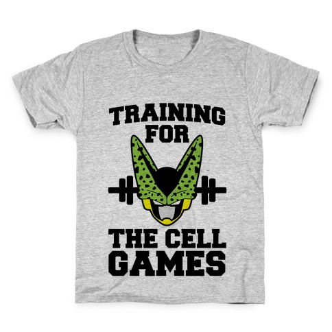 Training for the Cell Games Kids T-Shirt
