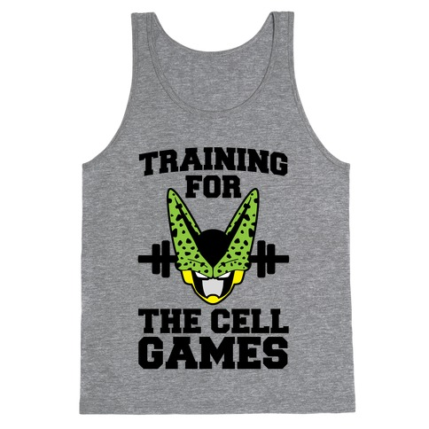 Training for the Cell Games Tank Top