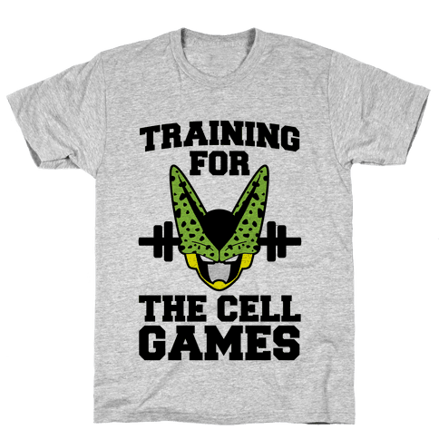 Training for the Cell Games Mens T-Shirt
