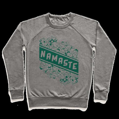 Namaste Banner Pullover