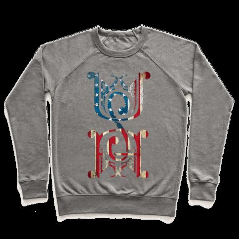 USA (Patriotic Raglan) Pullover