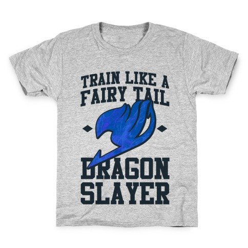 Train Like a Fairy Tail Dragon Slayer (Wendy) Kids T-Shirt