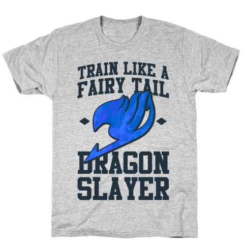 Train Like a Fairy Tail Dragon Slayer (Wendy) T-Shirt