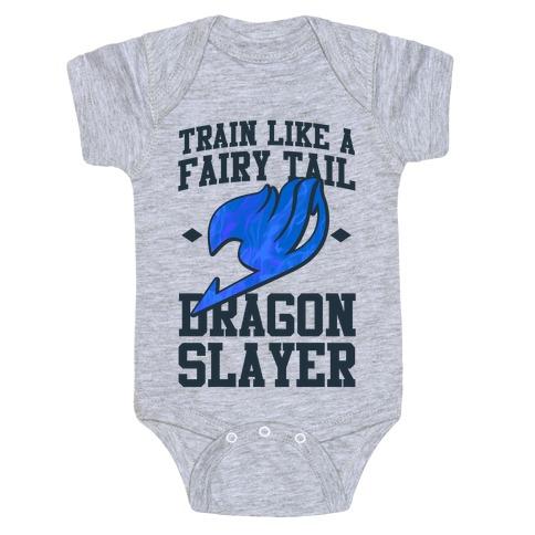 Train Like a Fairy Tail Dragon Slayer (Wendy) Baby Onesy