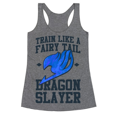 Train Like a Fairy Tail Dragon Slayer (Wendy) Racerback Tank Top