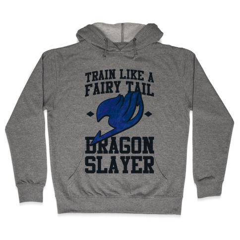 Train Like a Fairy Tail Dragon Slayer (Wendy) Hooded Sweatshirt