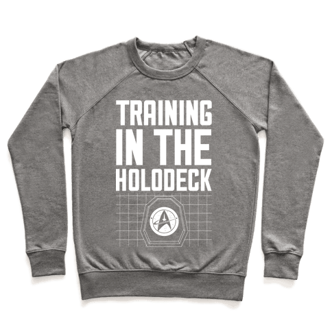 Training In The Holodeck Pullover