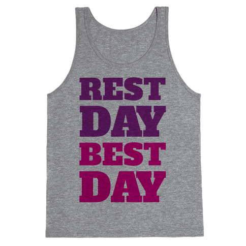 Rest Day Best Day Tank Top