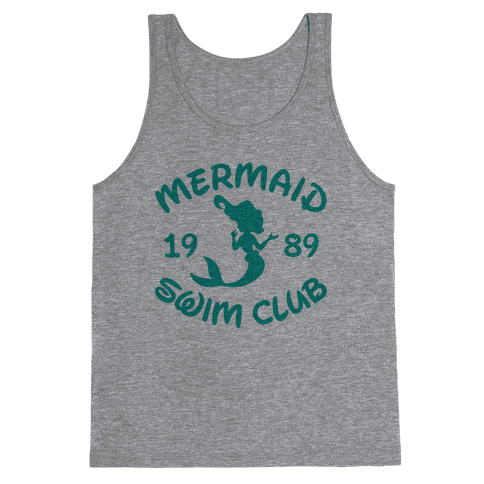 Mermaid Swim Club Tank Top