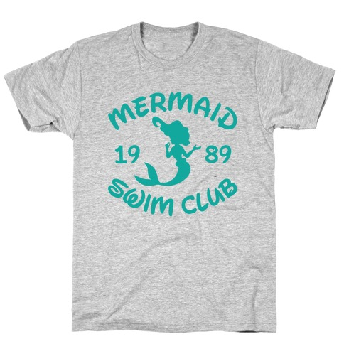 Mermaid Swim Club Mens T-Shirt
