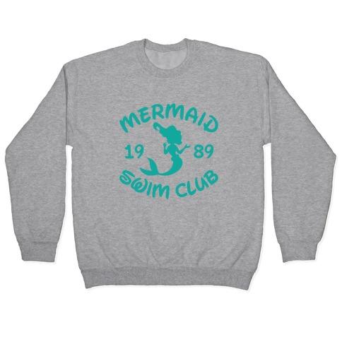 Mermaid Swim Club Pullover