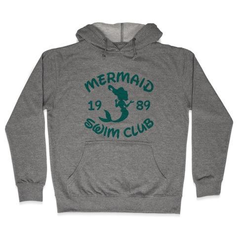 Mermaid Swim Club Hooded Sweatshirt