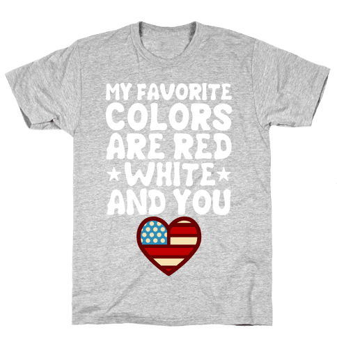 Red, White, And You (Patriotic Tank) Mens T-Shirt