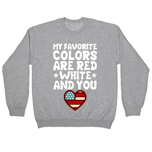 Red, White, And You (Patriotic Tank) Pullover