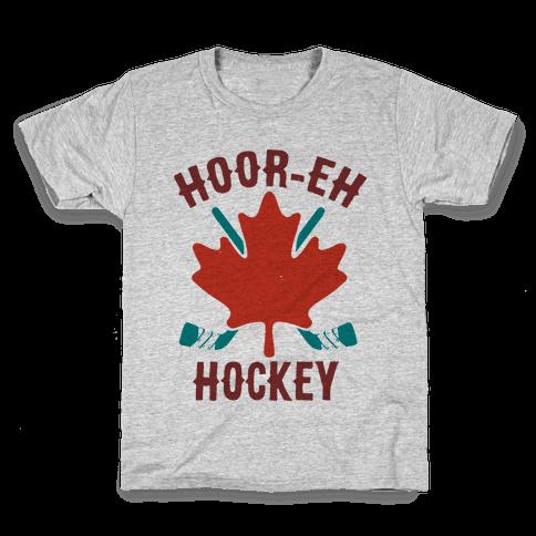 Hoor-Eh Hockey Kids T-Shirt