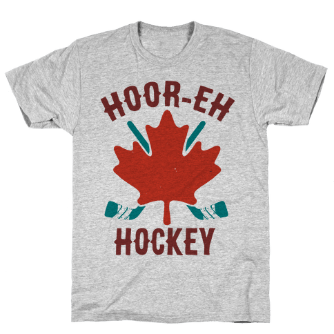 Hoor-Eh Hockey Mens T-Shirt