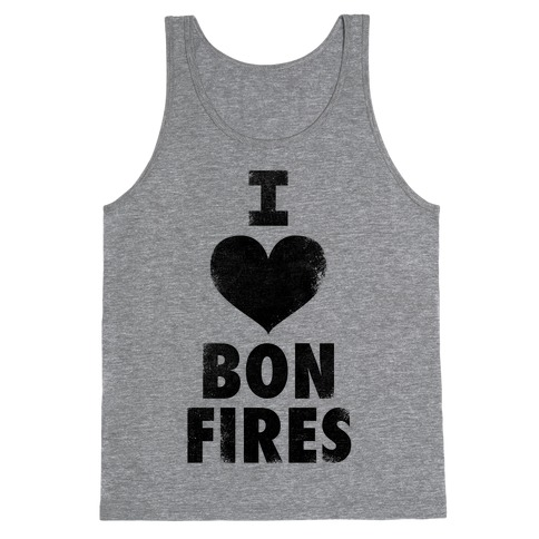 I Heart Bonfires Tank Top