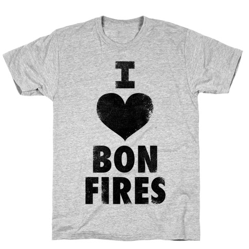 I Heart Bonfires T-Shirt