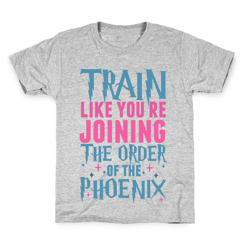 Train Like You're Joining The Order Kids T-Shirt