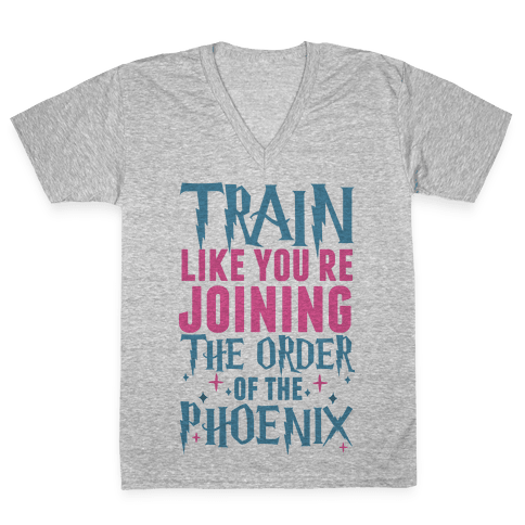 Train Like You're Joining The Order V-Neck Tee Shirt