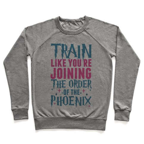 Train Like You're Joining The Order Pullover