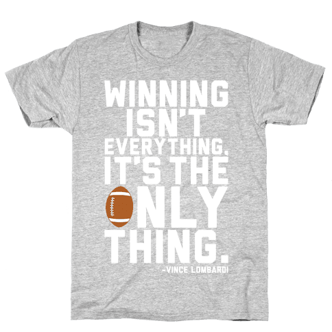 Winning Mens/Unisex T-Shirt