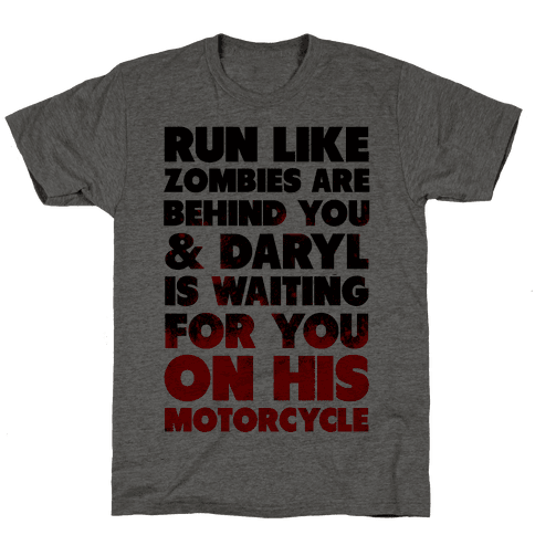 Run Like Daryl is Waiting