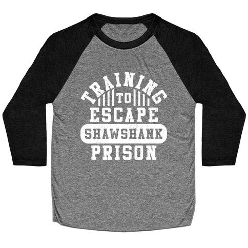 Training To Escape Shawshank Prison Baseball Tee