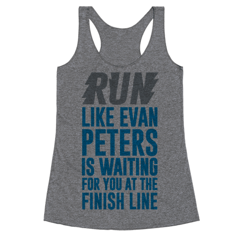 Run Like Evan Peters Is Waiting For You At The Finish Line