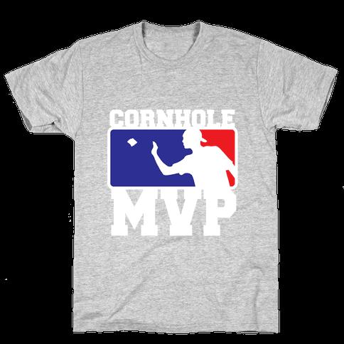 Cornhole MVP Mens/Unisex T-Shirt