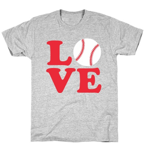 Love Baseball T-Shirt