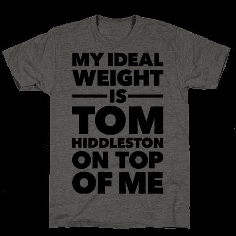 Ideal Weight (Tom Hiddleston)
