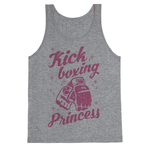 Kickboxing Princess Tank Top