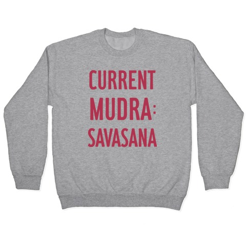 Current Mudra: Savasana Pullover