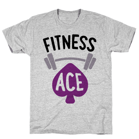 Fitness Ace Mens T-Shirt