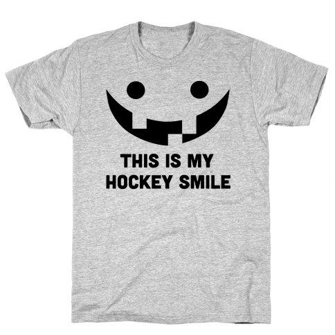 This is My Hockey Smile Mens T-Shirt