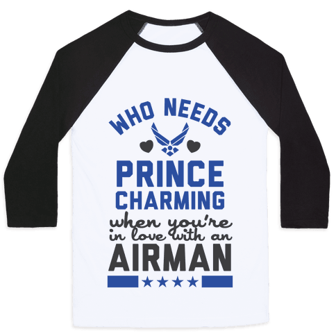 In Love with a Fly Boy (Air Force T-Shirt) Baseball Tee